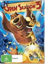 Open Season 3 (DVD,2011) Region 4 NEW+SEALED