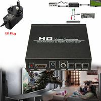 HD Video Converter Monitor Box for HDTV DVD STB Scart/HDMI to HDMI 720P 1080P DS