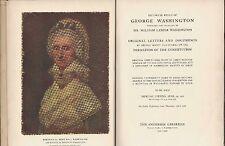 RELICS of GEORGE WASHINGTON Collection of WILLIAM LANIER WASHINGTON