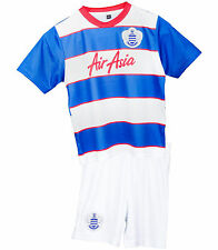 Kids Queens Park Rangers Camicia 1 ANNO -18 LAV football jersey neonato striscia completa