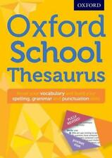 Oxford School Thesaurus (Oxford Thesaurus) by Oxford Dictionaries %7c Paperback Bo