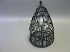 Vecchio Gabbia per Uccelli Uccello Trappola 35cm x 25cm