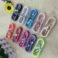 LOT10x Color Samsung Galaxy S9 S8 Charger USB Type C Data Charging Cable Braided