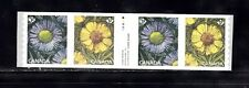 VC787 CANADA STRIP OF 4 COILS WITH TAB IN CENTER, MINT NH VF FLOWERS