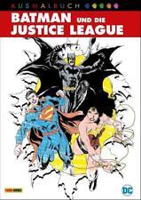 DC Ausmalbuch: Batman und die Justice League von Panini (2017, Taschenbuch)