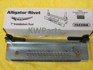 "Flexco 15004 Alligator Rivet 7"" Fastener Splice Tool for Round Hay Baler Belt"
