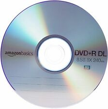 8.5GB 8x DVD+R DL - 30-Pack Spindle