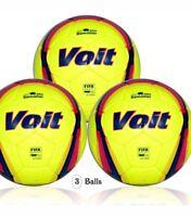 Voit Liga BBVA Bancomer (MX) official match ball(3 balls size 5)FIFA Quality Pro