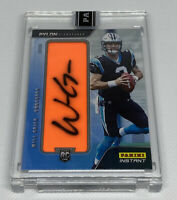 2019 20 Panini Instant WILL GRIER On Pylon Signatures Auto #9/10 RC PANTHERS