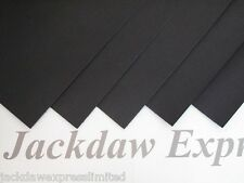 20 x A4 Quality Black Matt Cardstock 300gsm Cardmaking Scrapbooking AM64