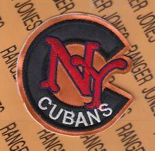 NEW YORK CUBANS NEGRO LEAGUES Professional Baseball 4 inch patch