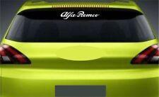 Rear Window Sticker Fits Alfa Romeo Premium Qaulity Decals Graphics RL2