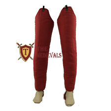 Medieval Thick Padded laggings Aketon Coat Armor