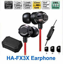 HA-FX1X XTREME XPLOSIVES HEADPHONES EARPHONES DEEP BASS FOR IPHONE SMARTPHONES