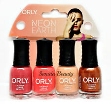 Orly Nail Lacquer - MINI Neon Earth - 4pc kits x 0.18oz  #28331