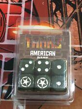 Dados para juego TANKS: AMERICAN DICE