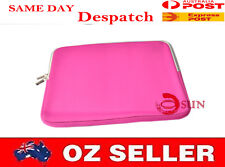 New 13 13.3 inch Hot Pink Laptop Sleeve Carry Case Pouch COVER Zipper Design