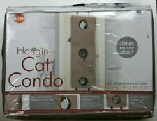 Door Hanging Cat Condo by K&H Pet products large size Brown Kitten