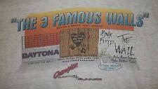 Vintage 90's PINK FLOYD (3 FAMOUS WALLS) T-Shirt XL Daytona Racing THE WALL rare