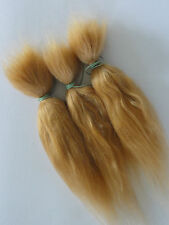 MOHAIR  100%  Bébé REBORN - REBORNING - ROOTING 30g -long- BLOND VENITIEN