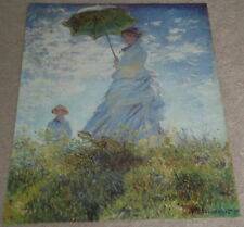 "Vgt Print ""Woman W/Parasol"" 29""X22"" Impressionism Unsigned Artwork Reproduction"