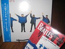 THE BEATLES HELP JAPAN TOSHIBA/EMI RECORDS RARE STEREO LP + CD & T-SHIRT BOX