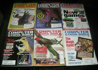 (11) Vintage Computer Gaming World Magazine PC Games Lot 1995 Big Mech Attack