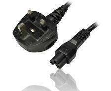 Mains Reino Unido C5 Hoja De Trébol Hoja De Trébol Cable de alimentación para ordenadores portátiles adaptadores de plomo 2M Nuevo