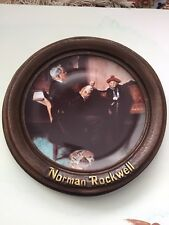 "Norman Rockwell Plate ""the Doctor And The Doll� 1977 First Limited Edition."