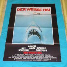 original JAWS German movie poster