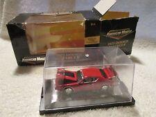 1971 Dodge Charger Rouge 1/64 W/PLASTIQUE Boîte de Présentation American Muscle