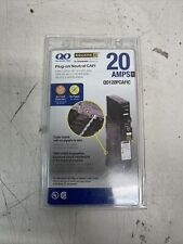 QO Square D 20 Amp Combination Arc Fault Circuit Interrupter - Q0120CAFIC