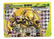1 carte Pokemon CHESNAUGHT (BLINDEPIQUE) BREAK   (12/162)  Ultra Rare (Anglaise)