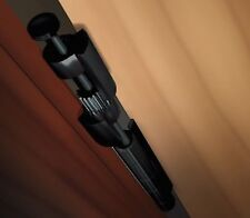 Door Saver 3 Hinge Pin Door Stop in Black Finish