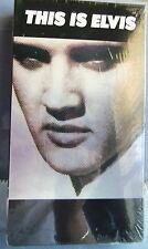 THIS IS ELVIS THE DEFINITIVE FILM BIOGRAPHY OF THE KING NEW IN BOX VHS
