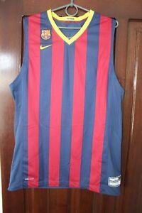 Barcelona Barca 2014 Basketball Nike Home Shirt Jersey Size L