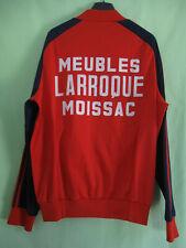 Veste Adidas Ventex Trefoil rouge ATP Moissac Larroque Vintage Jacket - XL