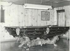 Brunswick 9'  Monarch Antique Pool Table