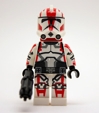 Lego Star Wars Custom Clone Trooper Commander Ganch with Hand Cannon & Backpack