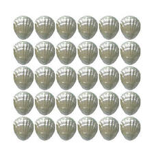 100 SILVER CHOCOLATE SEASHELLS - WEDDING FAVOURS BIRTHDAY PARTIES CANDY BUFFET