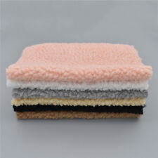 29X21cm Fabric Artificial Wool DIY Clothes Making Accessories Sewing Material 1x