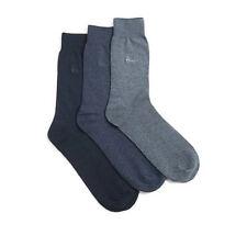 Pringle Mens 3 Pack Endrick Socks Cotton Blue Mix Size UK 7-11