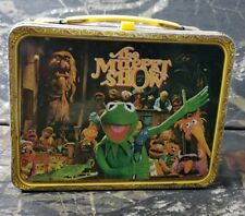 Vtg Muppet Show Metal Lunchbox With Thermos 1978 Jim Hansen Muppets E3