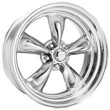 2 14 inch torq thrust ii polished 14x7 rims wheels chevy 5x475 vn5154761 fits chevrolet bel air
