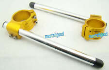 Pair 53mm Clip On Ons Handle Bars For Ducati 848/1098/1198 gk
