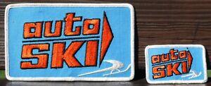 Vintage Auto Ski Snowmobile patches