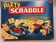 PARTY SCRABBLE MATTEL JEUX DE SOCIETE BON ETAT