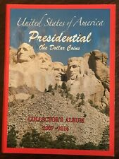 United States Of America Presidential One Dollar Coins Collector's Album 2007-16