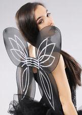 Halloween Gothic Black Fairy Wings