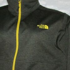MENS NORTH FACE CANYONWALL JACKET GREEN WITH YELLOW X-LARGE